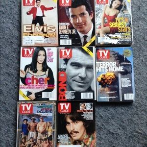 TV Guide Special Editions 3/$10, 2/$7, 1/$5.
